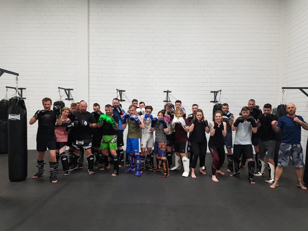 Kickboksles Focus Health & Fitness